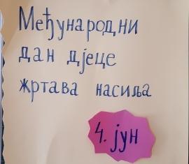 Medjunarodni dan djece žrtava nasilja (4. jun)